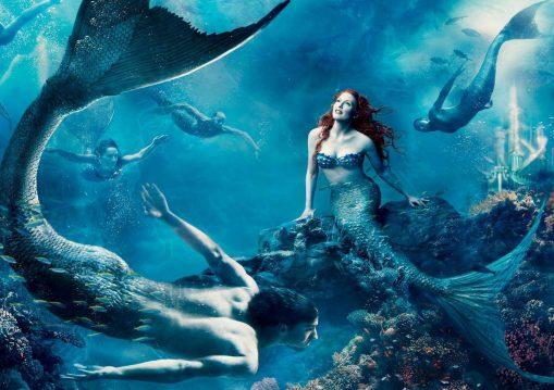 Merman & Mermaid