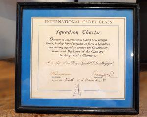Cadet Class RYCB Squadron charter