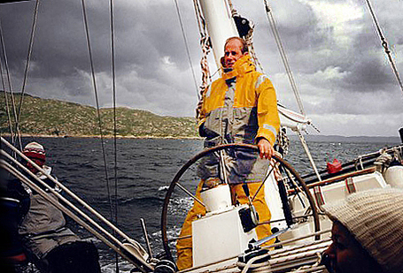 Karel Bos, RYCB bezieler en zeezeiler